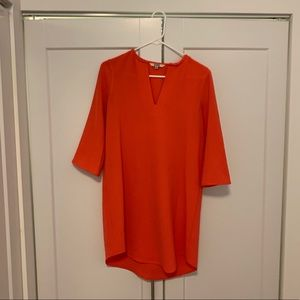 BB Dakota Size S Coral Tunic Dress